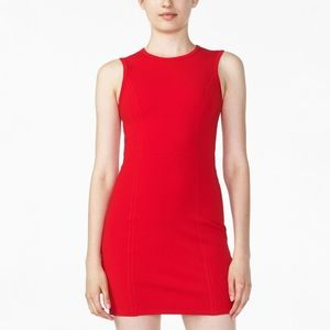 Armani Exchange Ponte Bodycon Dress